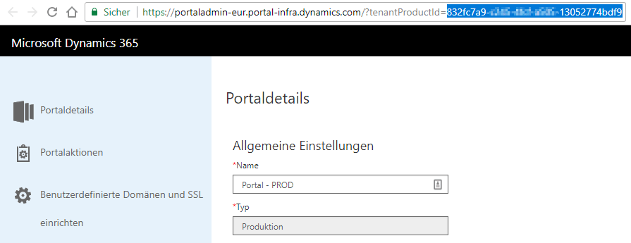 Failed internal Azure AD authentication with Dynamics 365 Portal